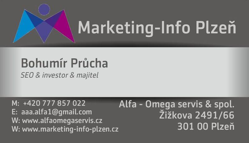 Bohumír Průcha - SEO specialita - investor - majitel