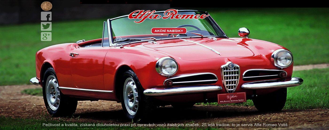 DOTAZNÍK autoservisu Alfa Romeo Fiat Lancia