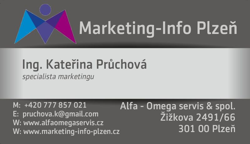 Ing. Kateřina Průchová - specialista marketingu