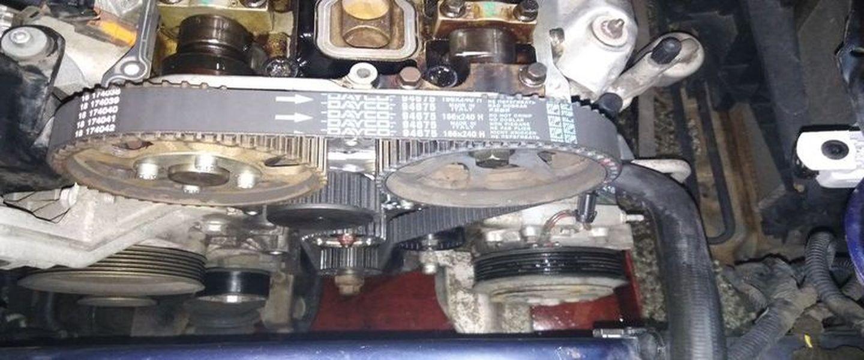 Výměna rozvodů motoru Alfa Romeo