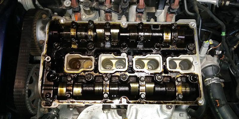 Výměna rozvodů motoru Alfa Romeo v autoservisu