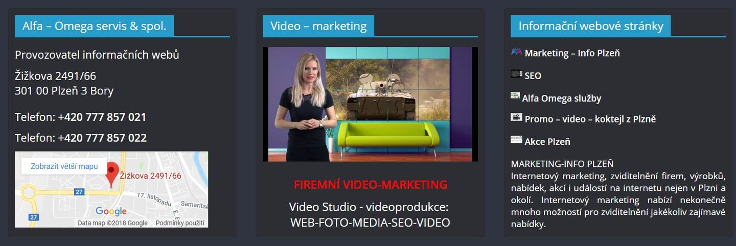 WEB FOTO MEDIA SEO VIDEO MARKETING - katalog firem