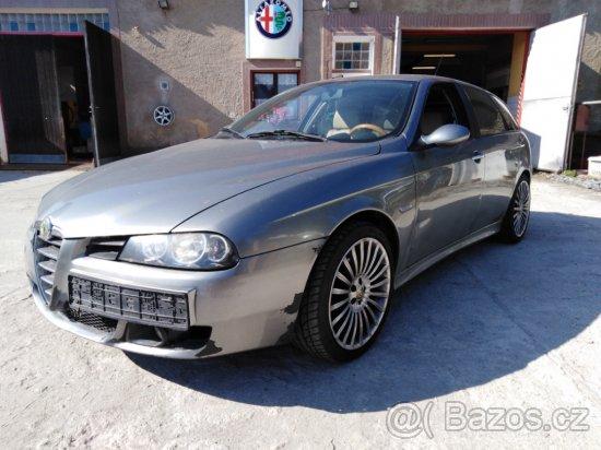 Alfa Romeo 156 SW 1.9 JTDm 110 kW, R. V. 2005 k prodeji v AUTOSERVISU ALFA ROMEO FIAT LANCIA v Plzni