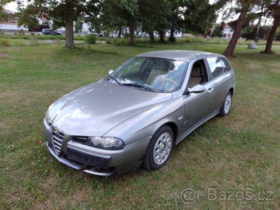 Alfa Romeo 156 SW 1.9 JTDm 110 kW, R. V. 2005 prodej v AUTOSERVISU ALFA ROMEO v Plzni