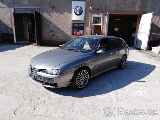 PRODÁM Alfa Romeo 156 SW 1.9 JTDm 110 kW, R. V. 2005 v AUTOSERVISU ALFA ROMEO FIAT LANCIA