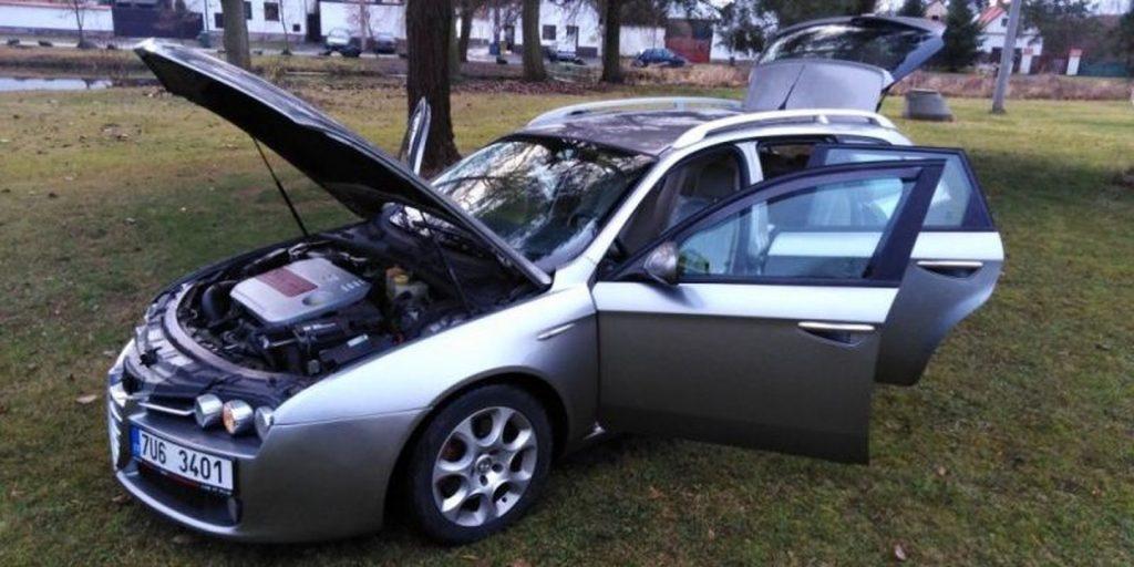 Prodám Alfa Romeo 159 v autoservisu Alfa Romeo FIAT LANCIA