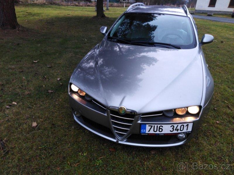 Prodám Alfa Romeo 159 v autoservisu Alfa Romeo Plzeň