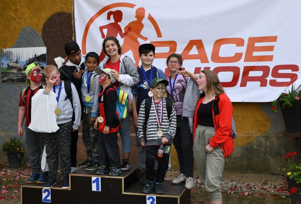 Běžecký závod pro děti za podpory Alfa-Omega servisu & spol