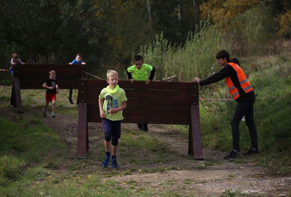 Běžecký závod pro děti za podpory Alfa-Omega servisu & spol a spolupořadatele MoveFit GYM
