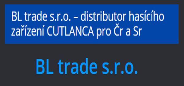 Vytvořili jsme webové stránky pro BL trade s.r.o. prodejce hasícího zařízení CUTLANCA